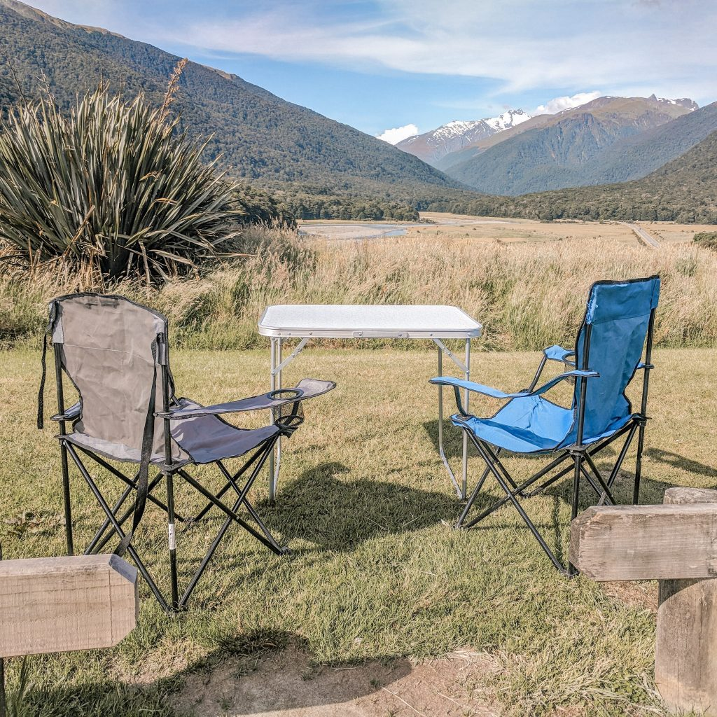 Cameron's Flat Campsite, New Zealand