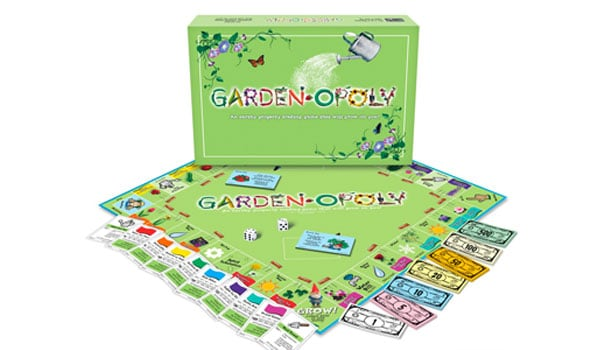 Gardenopoly, a board game based on Monopoly