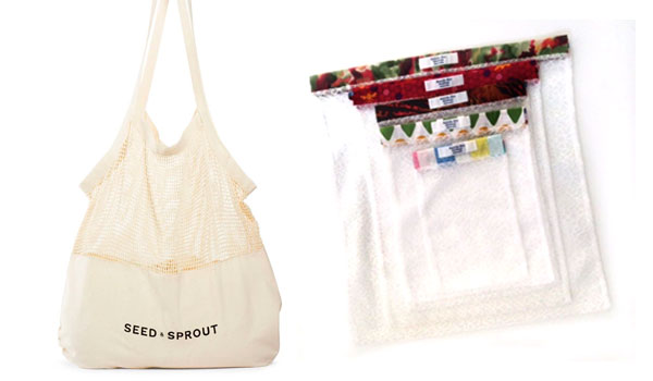 Reusable shopping and produce bags